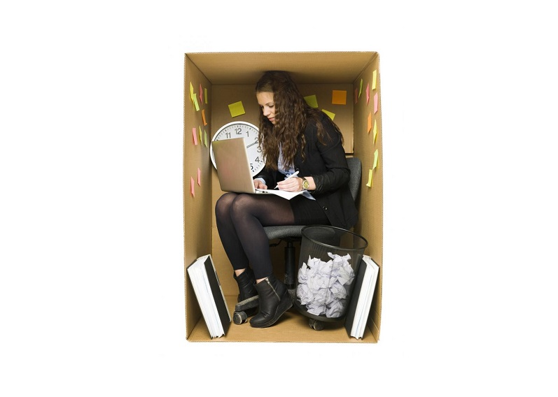 woman-in-a-small-office