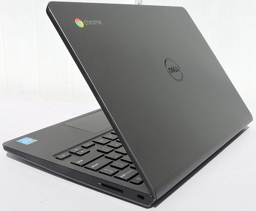 chromebook with logo