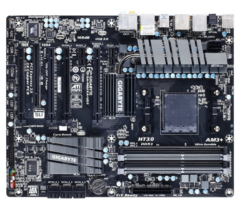 AM3+ socket motherboard
