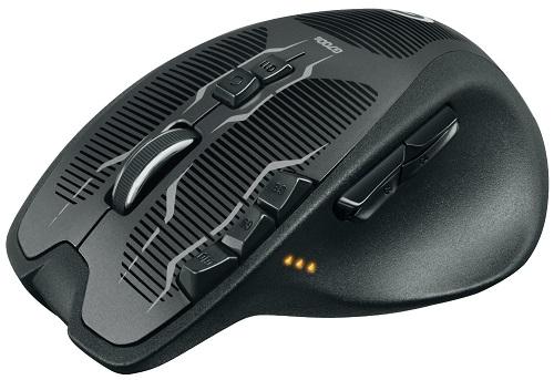 logitech g700s ergonomic mouse