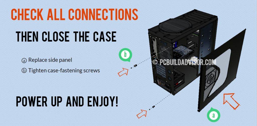 close computer case